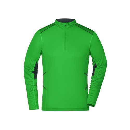 Men's Running Shirt - Atmungsaktives Lauf-Shirt (grün) (Art.-Nr. CA049640)