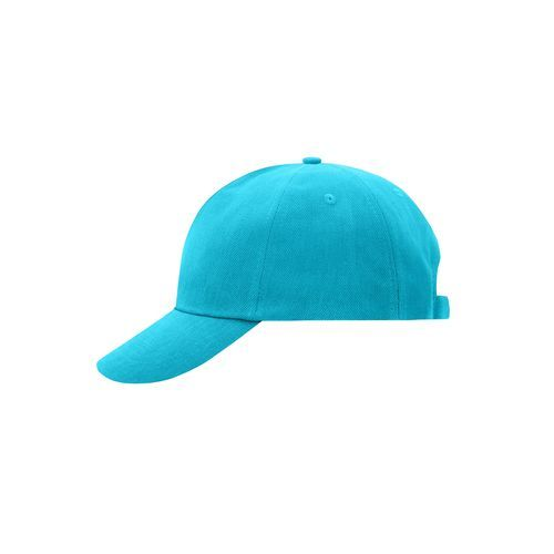 5 Panel Cap - Klassisches 5 Panel Cap aus heavy brushed Cotton (blau) (Art.-Nr. CA051999)