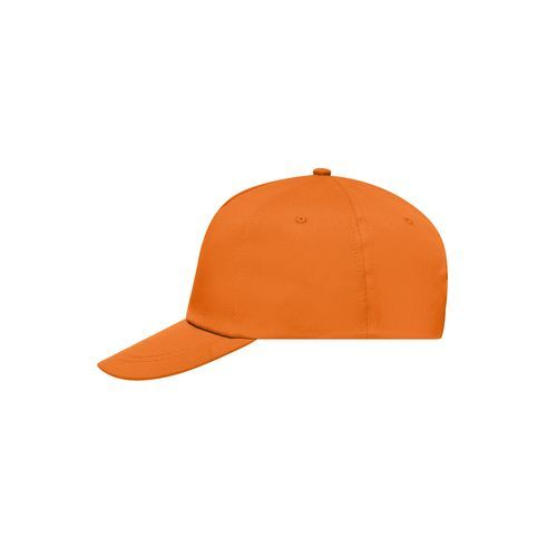 5 Panel Promo Cap Lightly Laminated - Promo Cap mit leicht laminiertem Frontpanel (orange) (Art.-Nr. CA052518)