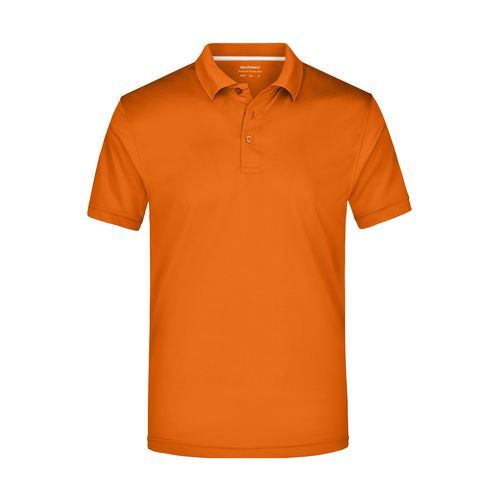 Men's Polo High Performance - Funktionspolo (orange) (Art.-Nr. CA052621)