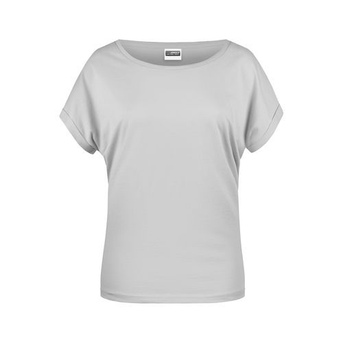 Ladies' Casual-T - Damen T-Shirt in legerem Stil (grau) (Art.-Nr. CA055771)
