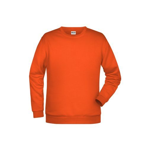 Promo Sweat Men - Klassisches Rundhals Sweatshirt für Herren (orange) (Art.-Nr. CA059710)