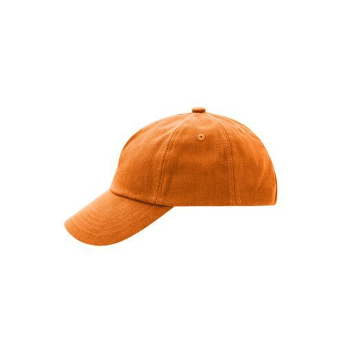 Trendiges Kinder Cap mit großem Schild (orange) (Art.-Nr. CA067034)