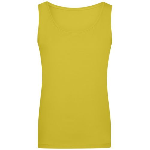 Ladies' Elastic Top - Klassiches Tank-Top (gelb) (Art.-Nr. CA072391)