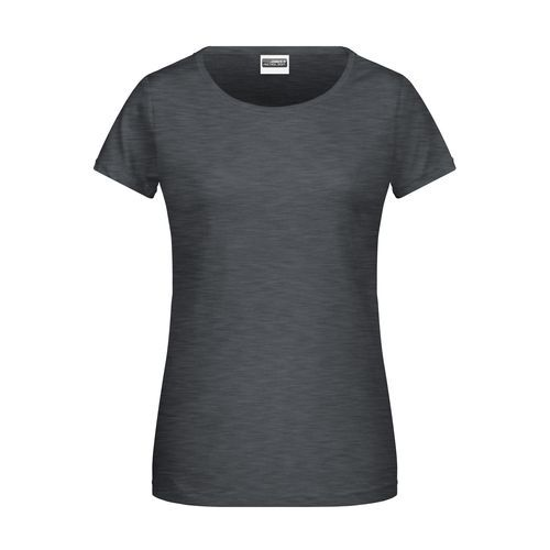 Ladies' Basic-T - Damen T-Shirt in klassischer Form (schwarz) (Art.-Nr. CA105872)