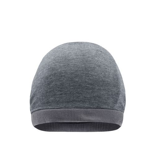 Heather Summer Beanie - Legere Streetwear Mütze (grau) (Art.-Nr. CA110497)