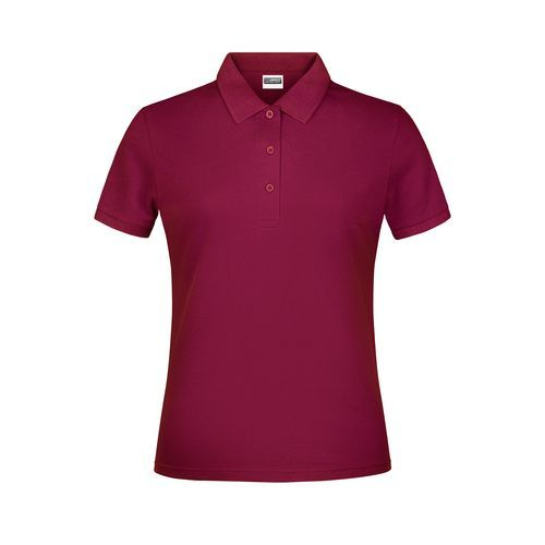 Promo Polo Lady - Klassisches Poloshirt (rot / weinrot) (Art.-Nr. CA111528)