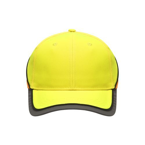 Funktionelles 6 Panel Cap in auffälligen Neonfarben (gelb / orange / neon) (Art.-Nr. CA125974)