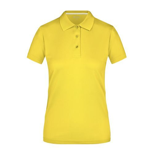 Ladies' Polo High Performance - Funktionspolo (gelb) (Art.-Nr. CA130246)