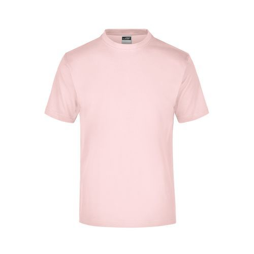 Komfort-T-Shirt aus Single-Jersey (pink, rot) (Art.-Nr. CA144412)
