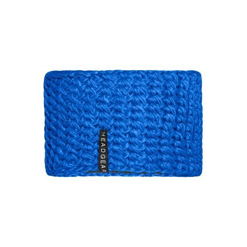 Crocheted Headband - Extrabreites Stirnband (blau) (Art.-Nr. CA145309)