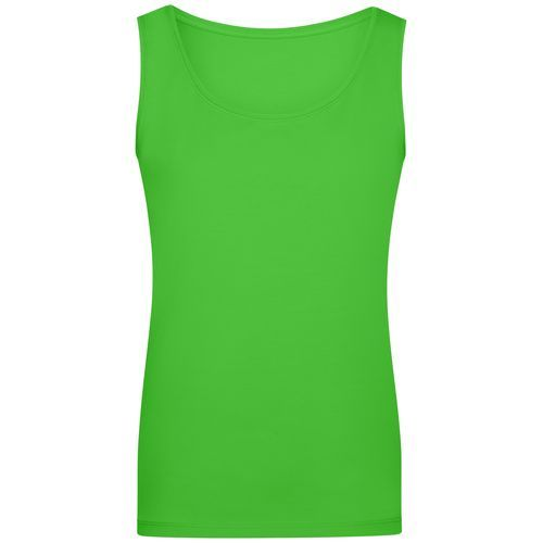 Ladies' Elastic Top - Klassiches Tank-Top (grün) (Art.-Nr. CA157276)