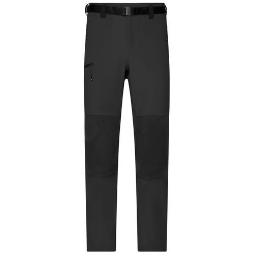 Men's Trekking Pants - Bi-elastische Outdoorhose in sportlicher Optik (schwarz) (Art.-Nr. CA172479)