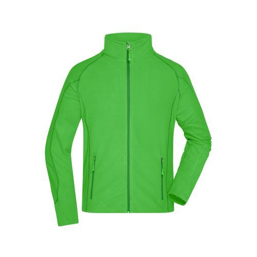 Men's Structure Fleece Jacket - Leichte Outdoor-Fleecejacke (grün) (Art.-Nr. CA177751)