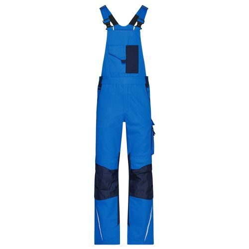 Workwear Pants with Bib - STRONG - - Spezialisierte Latzhose mit funktionellen Details (blau) (Art.-Nr. CA198062)