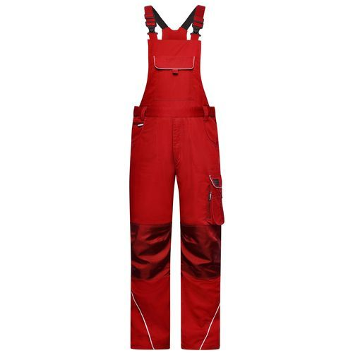 Workwear Pants with Bib - SOLID - - Funktionelle Latzhose im cleanen Look mit hochwertigen Details (Art.-Nr. CA202856)