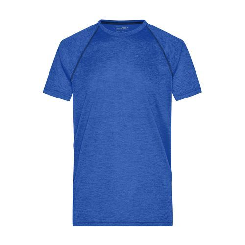 Men's Sports T-Shirt - Funktions-Shirt für Fitness und Sport (blau) (Art.-Nr. CA210708)