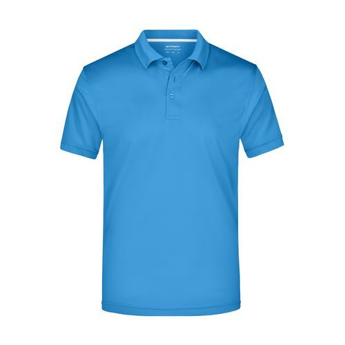 Men's Polo High Performance - Funktionspolo (azur) (Art.-Nr. CA215019)