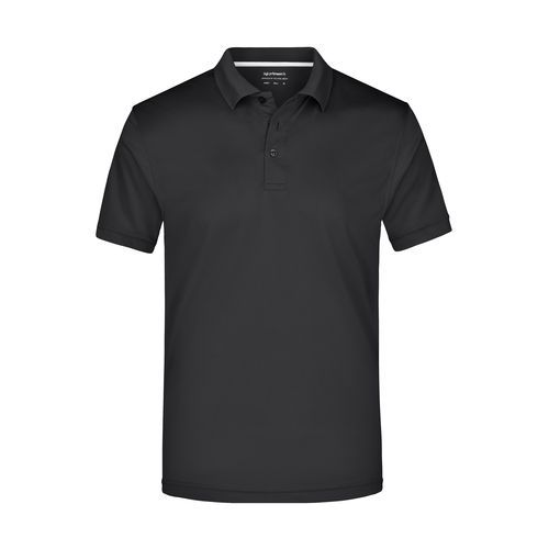 Men's Polo High Performance - Funktionspolo (black) (Art.-Nr. CA230169)