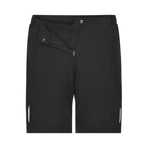 Mulitfunktionelle Bike-Shorts (schwarz) (Art.-Nr. CA231760)