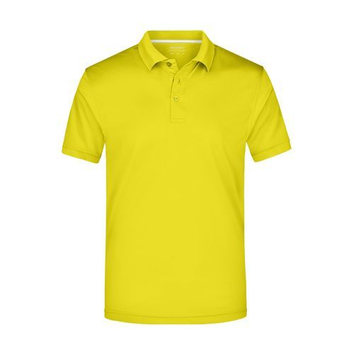 Men's Polo High Performance - Funktionspolo (gelb) (Art.-Nr. CA240907)