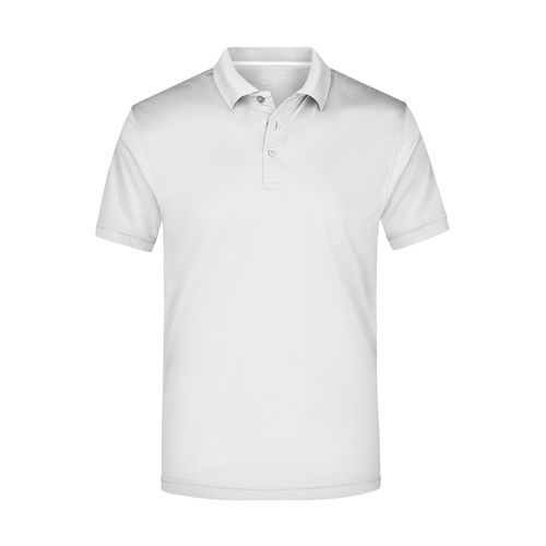 Men's Polo High Performance - Funktionspolo (white) (Art.-Nr. CA244716)