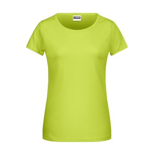 Ladies' Basic-T - Damen T-Shirt in klassischer Form (gelb) (Art.-Nr. CA277957)