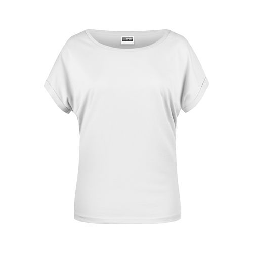 Ladies' Casual-T - Damen T-Shirt in legerem Stil (weiß) (Art.-Nr. CA328774)
