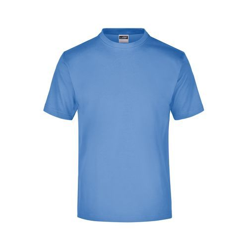 Komfort-T-Shirt aus Single-Jersey (blau) (Art.-Nr. CA393305)