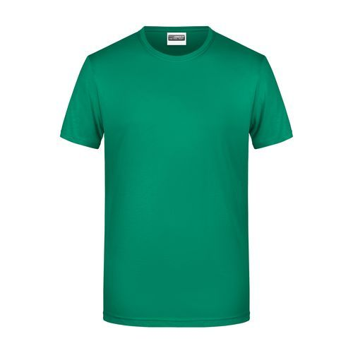 Men's Basic-T - Herren T-Shirt in klassischer Form (grün) (Art.-Nr. CA432271)
