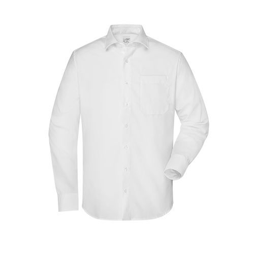 Men's Shirt 'NEW KENT' - Business Hemd 'Comfort Fit' mit New Kent Kragen (weiß) (Art.-Nr. CA621325)