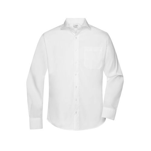 Men's Shirt 'HAI' - Business Hemd 'Comfort Fit' mit Hai Kragen (weiß) (Art.-Nr. CA635850)