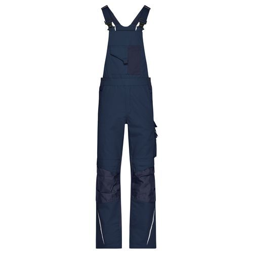 Workwear Pants with Bib - STRONG - - Spezialisierte Latzhose mit funktionellen Details (blau) (Art.-Nr. CA698557)
