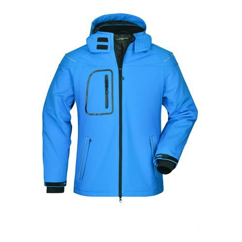 Modische Winter Softshelljacke (blau) (Art.-Nr. CA708321)