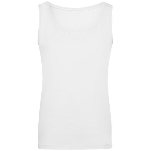 Ladies' Elastic Top - Klassiches Tank-Top (weiß) (Art.-Nr. CA730123)
