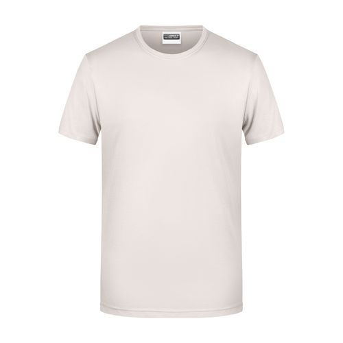 Men's Basic-T - Herren T-Shirt in klassischer Form (braun) (Art.-Nr. CA999328)