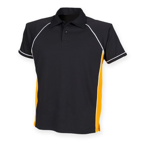 Men`s Piped Performance Polo [M] (Black) (Art.-Nr. CA000007)