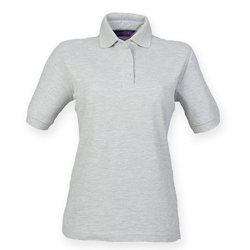 Ladies` 65/35 Classic Piqué Polo Shirt [XXL] (Heather Grey) (Art.-Nr. CA000047)