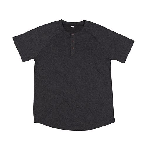 Superstar Henley T [S] (Charcoal Grey Melange) (Art.-Nr. CA000225)