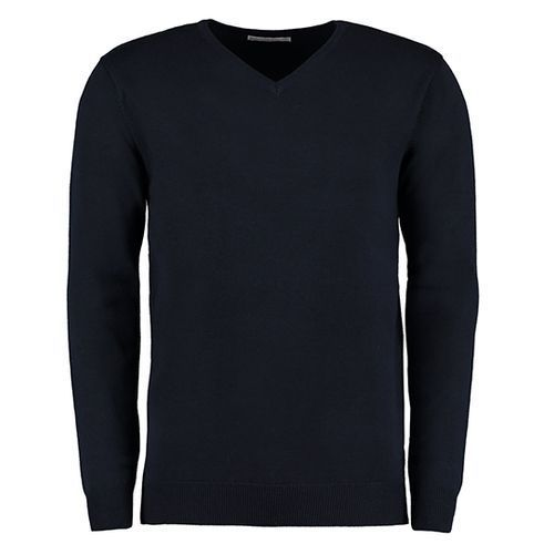 Classic Fit Arundel V-Neck Sweater [XXL] (Navy) (Art.-Nr. CA000373)