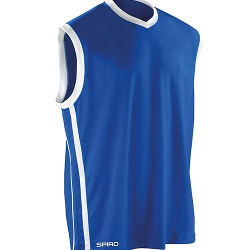 Basketball Men`s Quick Dry Top [S] (Royal) (Art.-Nr. CA000435)