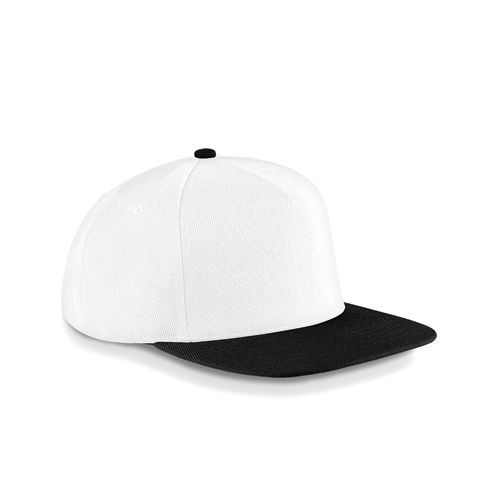 Original Flat Peak Snapback [One Size] (white / black) (Art.-Nr. CA000848)