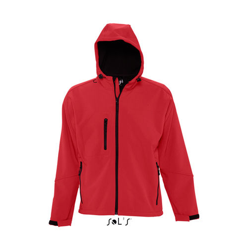 Hooded Softshell Jacket Replay [L] (Pepper Red) (Art.-Nr. CA000850)
