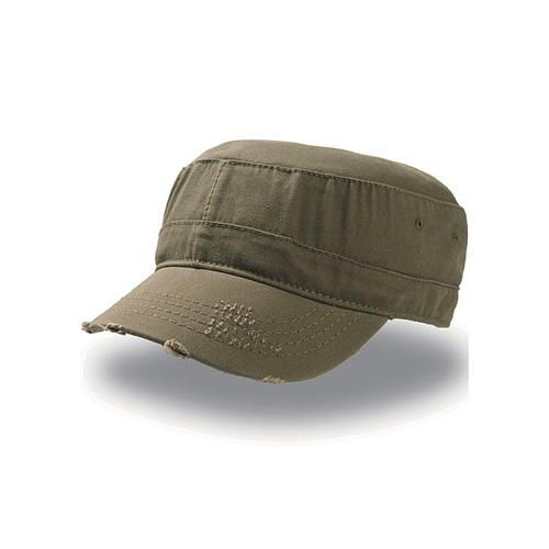 Urban Destroyed Cap [S/M] (olive) (Art.-Nr. CA000938)