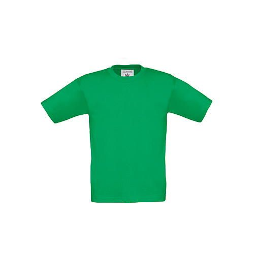 T-Shirt Exact 190 / Kids [3/4 (98/104)] (Kelly Green 520) (Art.-Nr. CA001254)