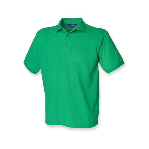 Men`s 65/35 Classic Piqué Polo Shirt [3XL] (Kelly Green) (Art.-Nr. CA002665)