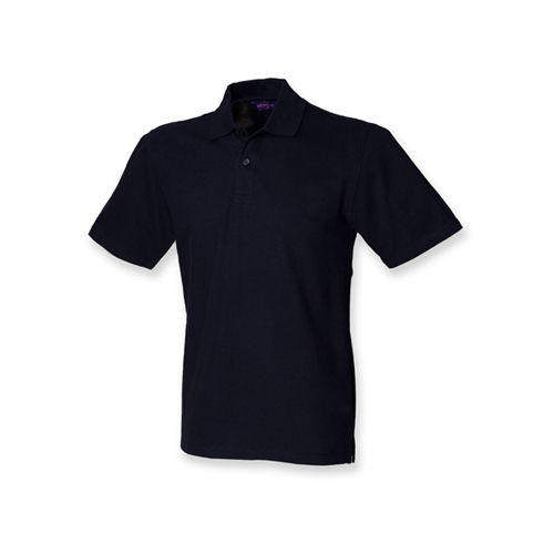 Men`s Stretch Piqué Polo Shirt [L] (Navy) (Art.-Nr. CA002757)
