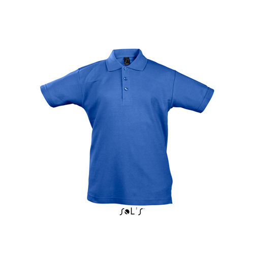 Kids` Summer Polo II [8 Jahre (118/128)] (Royal Blue) (Art.-Nr. CA003416)