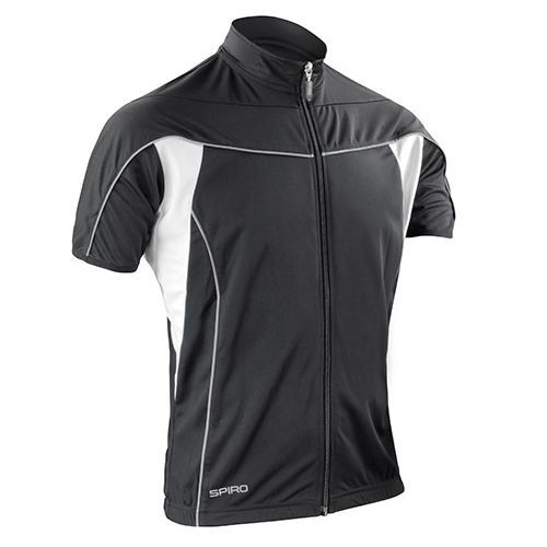 Men`s Bikewear Full Zip Performance Top [XL] (Black) (Art.-Nr. CA003612)