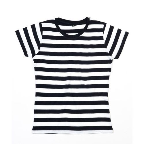 Women`s Stripy T [M] (black) (Art.-Nr. CA003884)